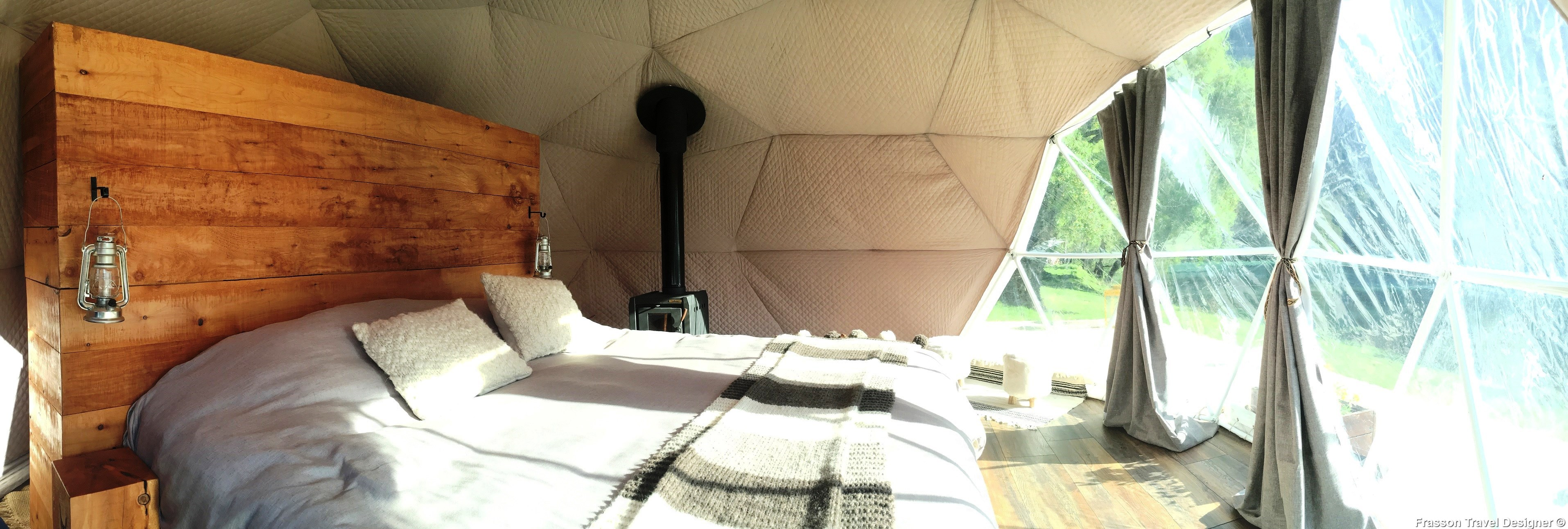 Glamping in Bariloche, Patagonia luxury camps